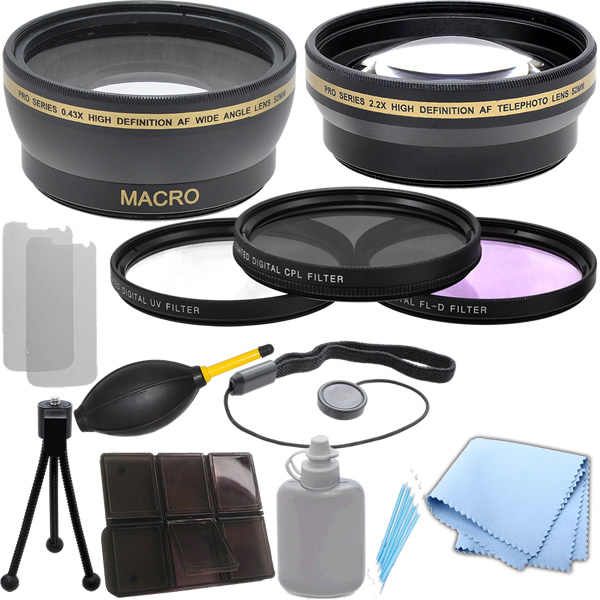 CPL 52mm Circular Polarizer Multicoated Glass Filter for Pentax K7 Microfiber Cleaning Cloth