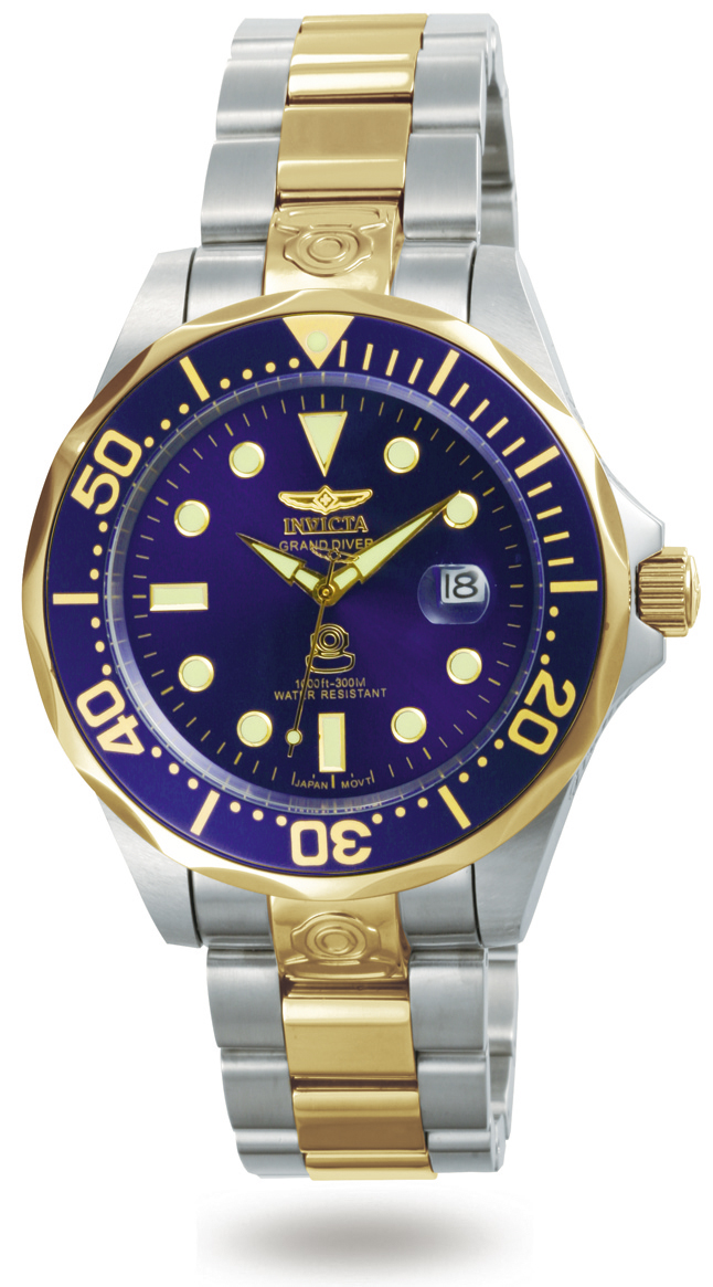 7a71db714a4 Details about Invicta Men s Pro Diver Collection Grand Diver GT Automatic  Watch 3049